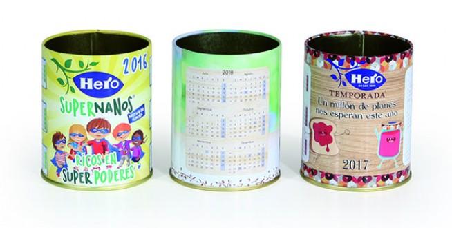 Ejemplo de envase metálico