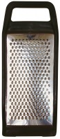 STAINLESS STEEL MEDIUM GRATER, PLASTIC RIM