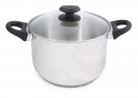STOCK POT WITH LID INOX BASIC