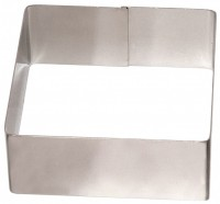 STAINLESS STEEL SQUARE PLATTER