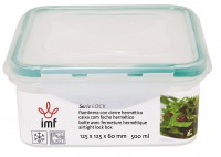 "AIR TIGHT SQUARE LUNCH BOX ""LOCK"""