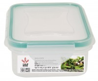 "AIR TIGHT RECTANGULAR LUNCH BOX ""LOCK"""