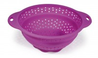 SILICONE COLLAPSABLE STRAINER HAPPY LIFE