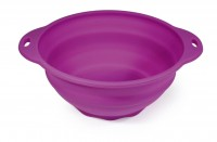 SILICONE COLLAPSABLE BOWL HAPPY LIFE