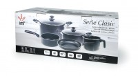 COOKWARE SET 7 PIECES CLASIC