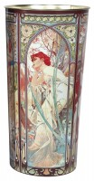UMBRELLA STAND with plate MUCHA