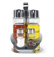 "OIL-VINEGAR SALT AND PEPPER SET ""PREMIUM"""